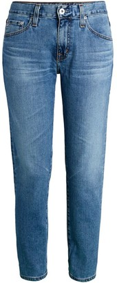 AG Jeans Ex-Boyfriend Mid-Rise Slim-Fit Jeans