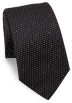 Eton Polka Dotted Silk Tie