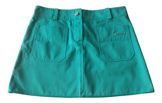 Louis Vuitton Green Cotton Skirts