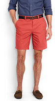"Lands' End Men's Classic Fit 9"" Lightweight Casual Chino Shorts-Lunar Navy"