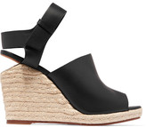 Alexander Wang Tori leather wedge sandals