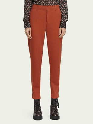 Scotch & Soda Tailored mid-rise stretch pants | Women