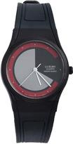American Apparel Luxury Men's Plastic Wristwatch - Grey Red