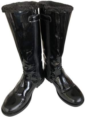 Lelli Kelly Kids Black Patent leather Boots