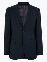 Marks and Spencer Tailored Fit Wool Rich Jacket