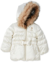 Juicy Couture Infant Girls) Hooded Puffer Coat
