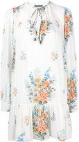 Alexander McQueen floral shirt dress - women - Silk - 44