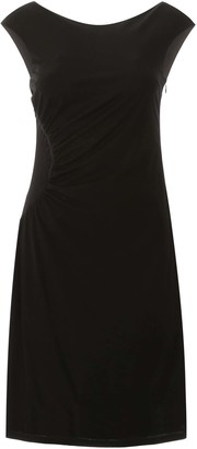 Moschino EMBROIDERED DRESS 40 Black