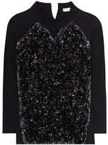 Sonia Rykiel Sequinned cotton sweatshirt