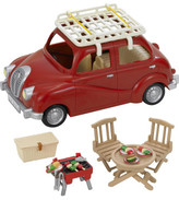 Sylvanian Families Roof Rack And Picnic Set