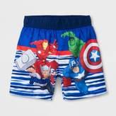 Marvel Toddler Boys' Avengers Swim Trunks - Blue