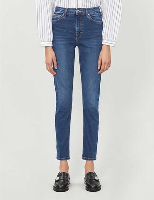 Topshop Jamie skinny high-rise jeans