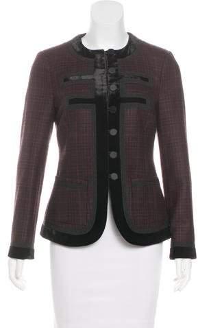 Givenchy 2017 Prince de Galles Jacket