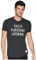 Original Retro Brand The Taco Tuesday Legend Tri-Blend Tee (Streaky Black) Men's T Shirt