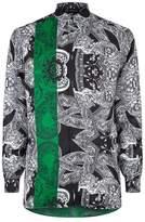 Versace Paisley Silk Shirt