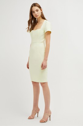 French Connection Glass Stretch Fitted Dress