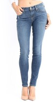 Level 99 Women's Lisa Stretch Distressed Super Skinny Jeans