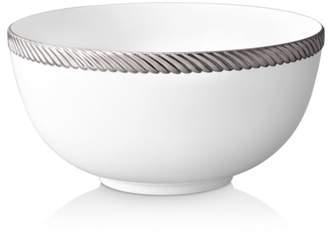 L'OBJET Corde Platinum Large Serving Bowl