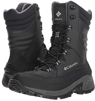 Columbia Bugaboot III XTM (Black Grey) Men's Cold Weather Boots