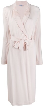 La Perla Fitted Long-Sleeved Robe