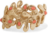 Oscar de la Renta Sea Tangle Gold-Tone Resin Bracelet