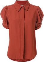 Chloé ruched sleeve blouse