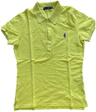 Ralph Lauren Yellow Cotton Top for Women