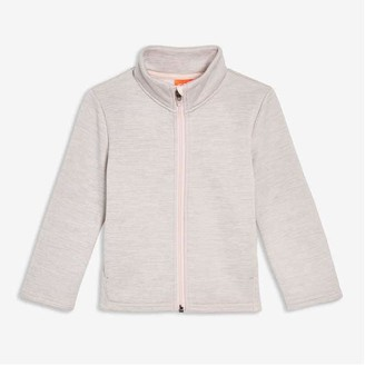 Joe Fresh Toddler Girls' Fleece Jacket, Light Pink (Size 4)