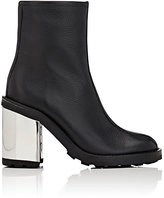 Opening Ceremony WOMEN'S ISA GRAINED LEATHER ANKLE BOOTS-BLACK SIZE 6