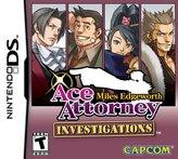 Nintendo Capcom USA Ace Attorney Investigations: Miles Edgeworth DS)