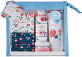 Cath Kidston Saltwick Bunch Travel Set with Cotton Trim Bag