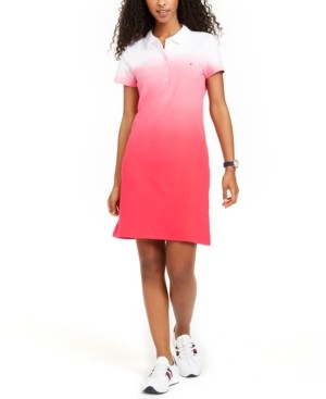 Tommy Hilfiger Ombre Polo Dress, Created for Macy's