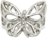 SPARKLE ALLURE city x city Cubic Zirconia Butterfly Ring