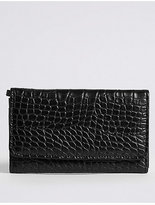 M&S Collection Faux Leather Purse with CardsafeTM