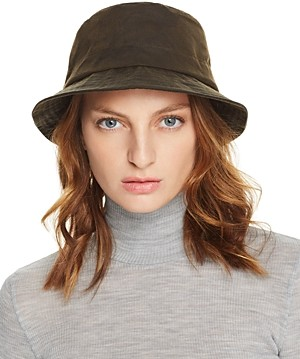 Barbour Dovecote Waxed Cotton Bucket Hat