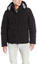 Vince Camuto Men's Stretch Down Puffer W/ Removable Sleeves