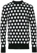 Diesel Black Gold polka dots sweatshirt - men - Wool - S