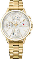 Tommy Hilfiger Women's Casey Gold-Tone Bracelet Watch 40mm