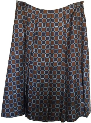 Laura Urbinati Silk Skirt for Women