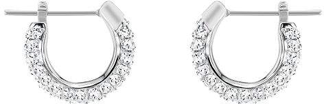 Swarovski Stone Hoop Earrings