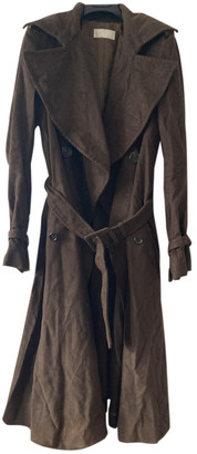 Nicole Farhi Brown Viscose Coats