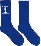 Vetements Blue Reebok Edition 'Tourist' Socks