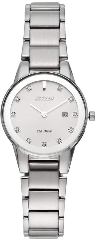 Citizen Eco-Drive Women's Axiom Diamond Stainless Steel Watch - GA1050-51B