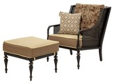 Bombay Outdoors Bombay® Outdoors Sherborne Palmetto Chair & Ottoman 2pc Set