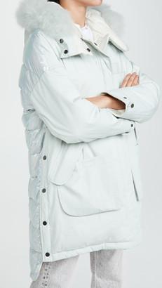 Army by Yves Salomon Long Puffer Coat