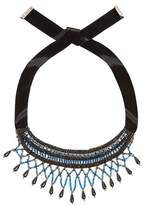 Etro Crystal and bead-embellished necklace