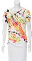 Escada Printed Short Sleeve T-Shirt w/ Tags