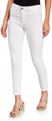 AG Jeans The Farrah High-Rise Ankle Skinny Jeans