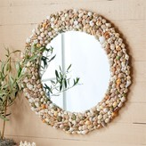 The Well Appointed House Coquillage Natural Shell Wall Mirror