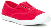 Cienta Eyelet Slip-On Sneaker (Little Kid)